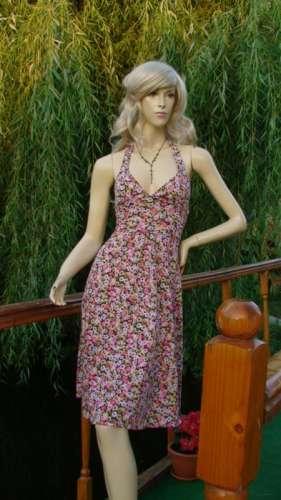rochie inflorata retro