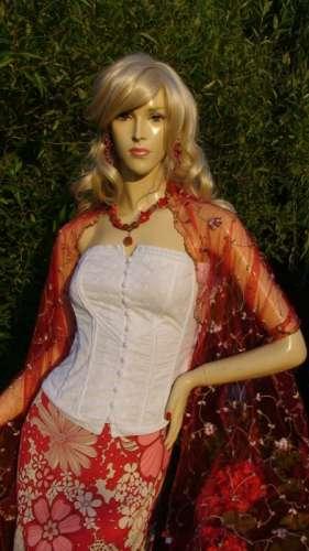 corset alb