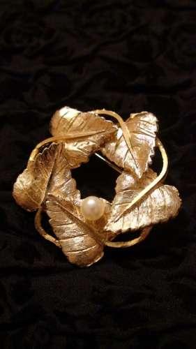 brosa frunze vintage anii 30
