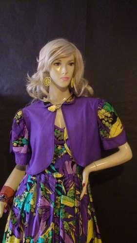 rochie violet vintage